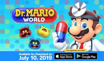 Играта Dr. Mario World на Nintendo излиза на 10 юли за Android и iOS