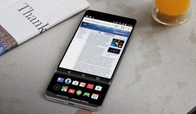 Концептуален дизайн на LG V30 предвижда иновативно приложение за втория дисплей