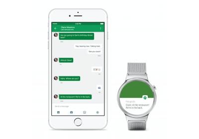 Часовниците с Android Wear вече ще могат да работят с iPhone