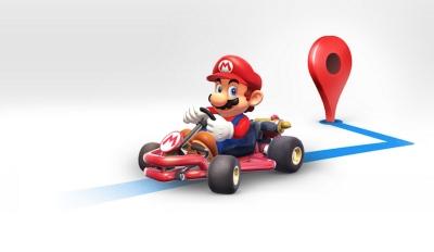 Super Mario влиза в Google Maps по случай днешния си празник