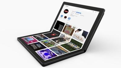 Lenovo представи прототип на лаптоп със сгъваем дисплей