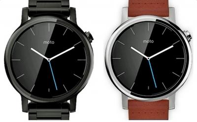 Още изображения на необявения часовник Moto 360