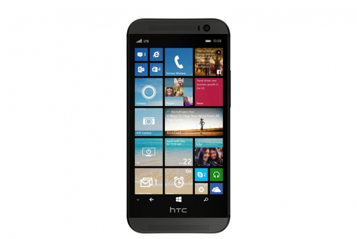 Първо изображение на HTC One M8 с Windows Phone 8.1