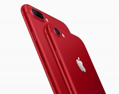 Apple представи iPhone 7 и iPhone 7 Plus в червено