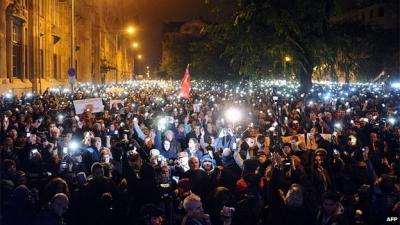 Хиляди протестираха срещу подготвяния
