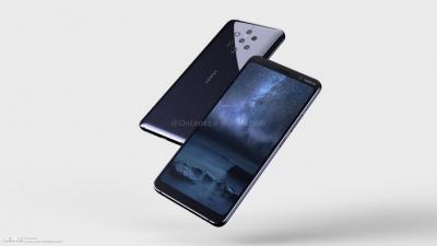 Нови изображения разкриват предполагаемия дизайн на смартфона с петорна камера Nokia 9